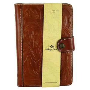 PATRICIA NASH Tooled Print Leather Chieti Agenda